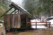 Bagby Hot Springs bathhouse closed, set for demolition