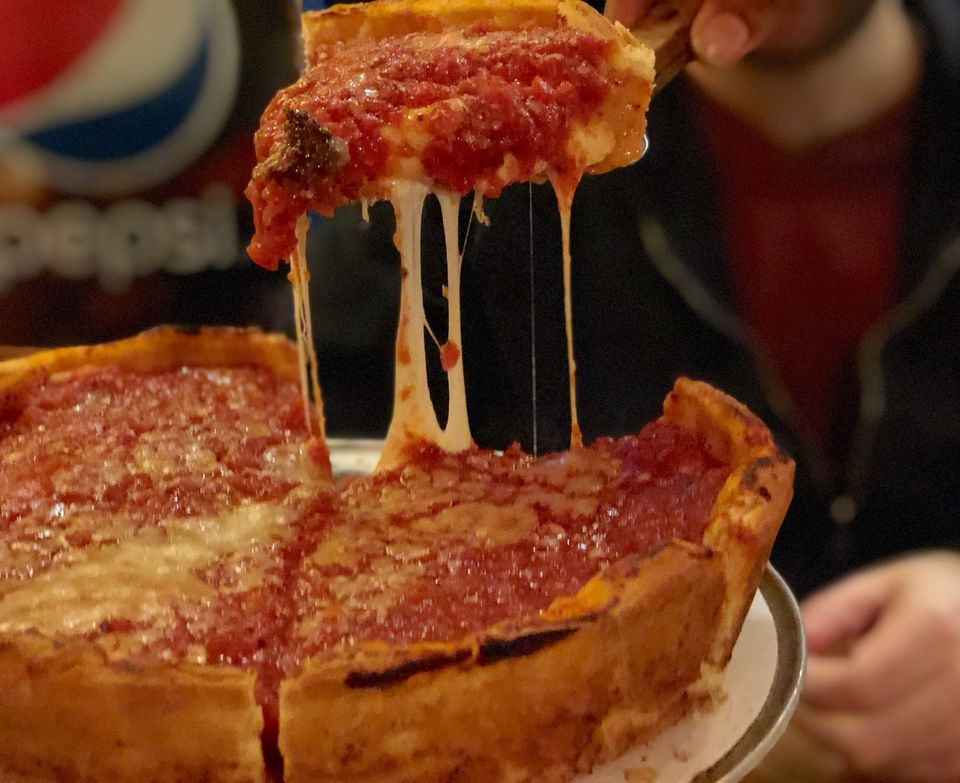 We put Giordano's Chicago deep dish pizza in Detroit to the