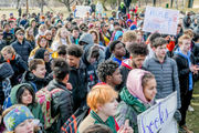 'Our voice is the future': What students said at Ypsilanti rally against gun violence
