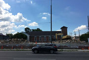 The old Cornerstone Homes on Claiborne Avenue has been demolished