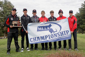 Henry Sniezek and Hoosac Valley won the 2018 Western Mass Division II Golf Championship at Ludlow Country Club on Monday.