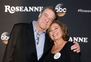 Actor John Goodman (L) and actress/executive producer Roseanne Barr attend The Roseanne Series Premiere at Walt Disney Studios on March 23, 2018 in Burbank, California.