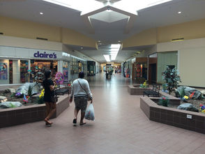 The Great Northern Mall in Clay can be a lonely place these days.