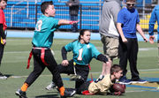 9/11 Youth Flag Football League invades St. Peter's HS (Photos)