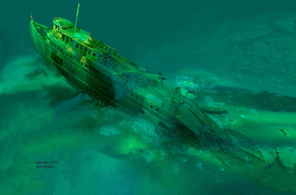 90-year-old shipwreck, caused by herd of cows, discovered in