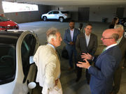 Eversource begins rollout of 400 electric car chargers across Massachusetts; 'range anxiety' seen as enemy to emissions progress
