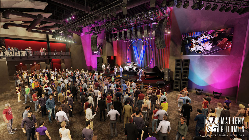 Construction for Von Braun Center's new 1,200-capacity music hall is expected to begin within a month and should be completed in 14 months.