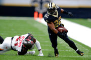 Mark Ingram works out with Lane Kiffin at Florida Atlantic