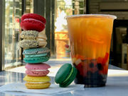 Something Sweet: Ice cream shop hunkers down with macarons and warm milk teas