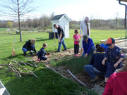 Scouts had a day of good deeds at the farm: Whit & Whimsey (Photos)