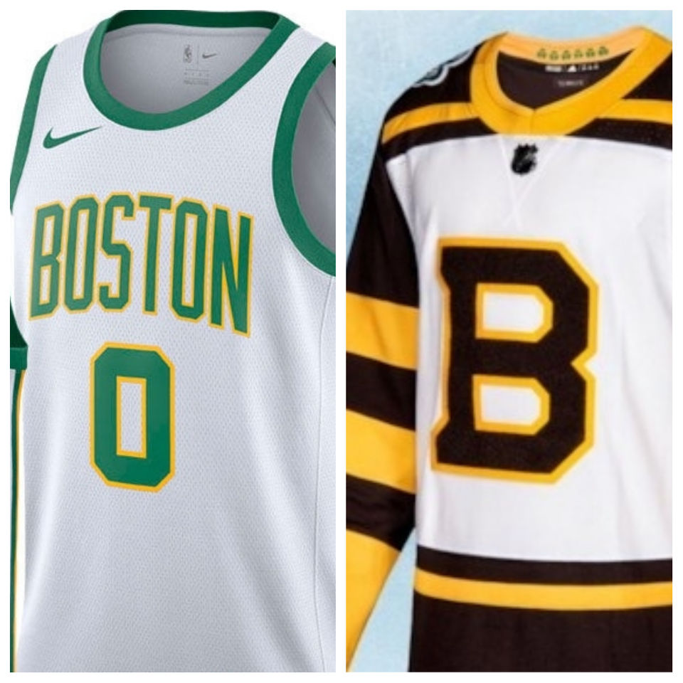 release date: 73526 0ef67 Bruins Winter Classic vs. Celtics City series uniforms ...