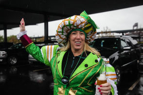 Tailgating action outside Lincoln Financial Field ahead of the Philadelphia Eagles game against the Indianapolis Colts.