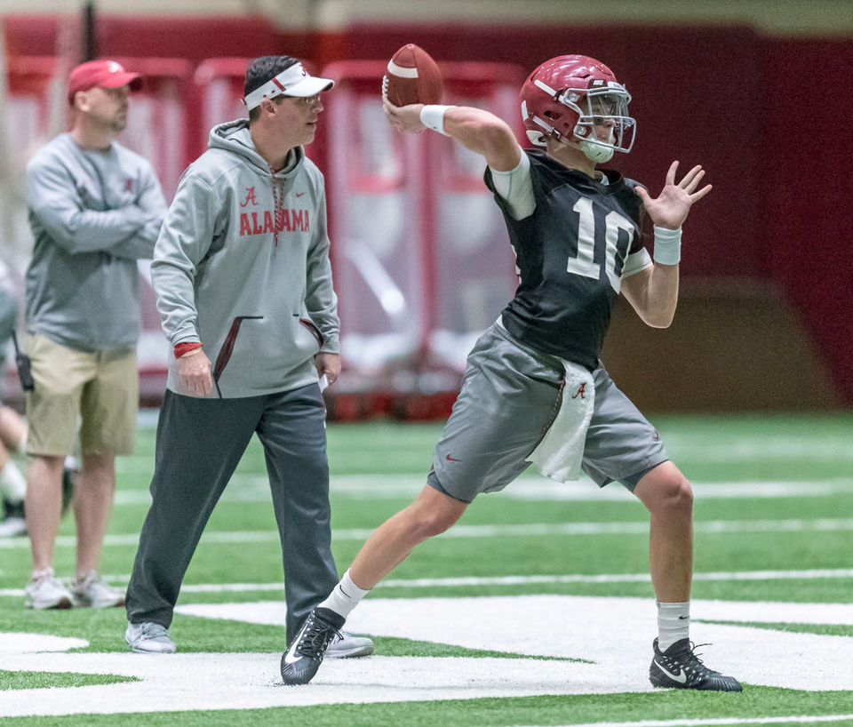 Why young Alabama QB has been compared to a tennis legend