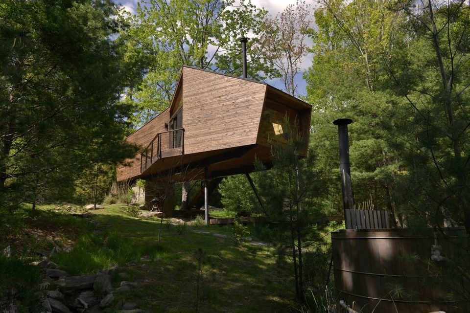 Treehouse Camping In Upstate Ny 7 Places To Stay In The