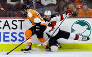 How Devils handled playing without Sami Vatanen: 6 observations, studs and duds from win over Flyers | Joey Anderson, Andy Greene, more