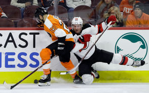 """Vatanen also chews up the most minutes of any blue liner on a nightly basis, playing over 25 minutes on many occasions. So without him present to handle some tough matchups in the second half of the game, the Devils needed to avoid any lulls in their play. """"You're not going to replace Sami Vatanen. Everybody has to play to their full potential,"""" defenseman Ben Lovejoy said. """"Will Butcher needs to be the best Will Butcher he can be. Andy Greene needs to be the best Andy Greene he can be, and so forth. We were able to do that tonight. Our forwards did a great job coming back, managing pucks, making it easy for us. That made a huge difference."""""""