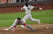 Yankees' rally falls short, Red Sox advance to ALCS with 4-3 win (photos)