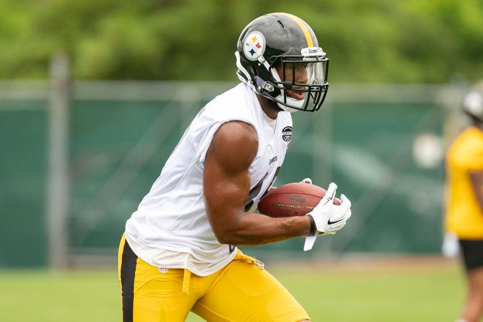 new styles 7241f 67fde Steelers camp: Rain disrupts practice, Xavier Grimble makes ...
