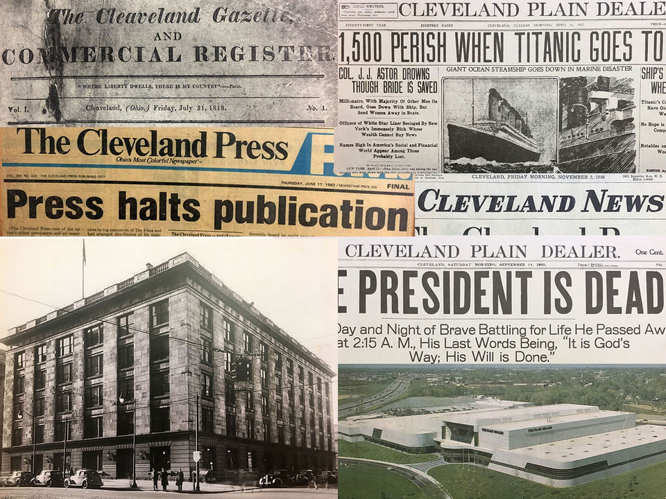 Celebrating 200 years of Cleveland newspaper history