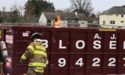 Dumpster fire spreads to 2nd bin behind new store (PHOTOS)