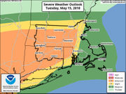 'Severe thunderstorms,' strong winds possible in Massachusetts on Tuesday