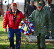 Hundreds honor veterans in annual Easton program (PHOTOS)