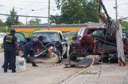 3-vehicle crash injures 2 people, including DOTD worker