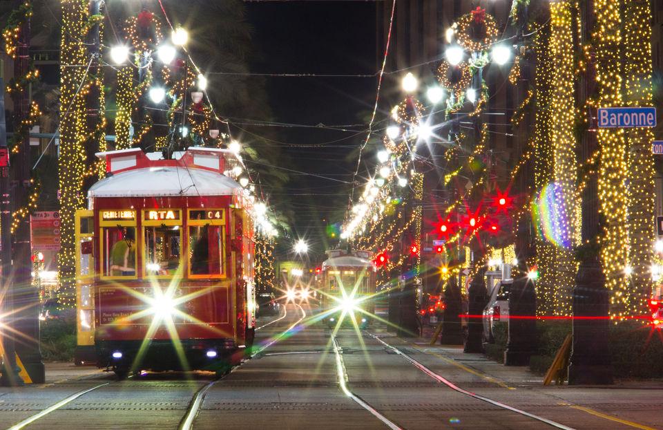 Green Net Christmas Lights