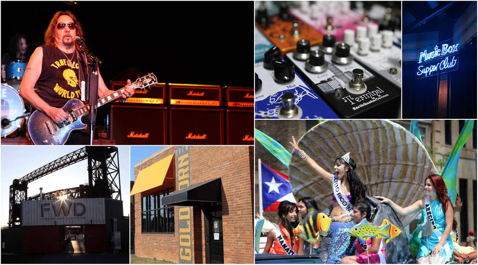 This weekend: Ace Frehley, Earthquaker Day, Latino festival, FWD, Goldhorn Brewery, Music Box