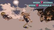 Week 7 prep football metro, state scores, links; Week 8 schedule