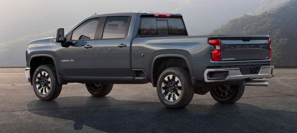 A closer look at Chevy's 2020 Silverado HD pickup that will debut in February