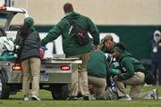 Felton Davis' season-ending injury latest blow to depleted Michigan State WRs