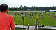 High school band camp -- where the show begins
