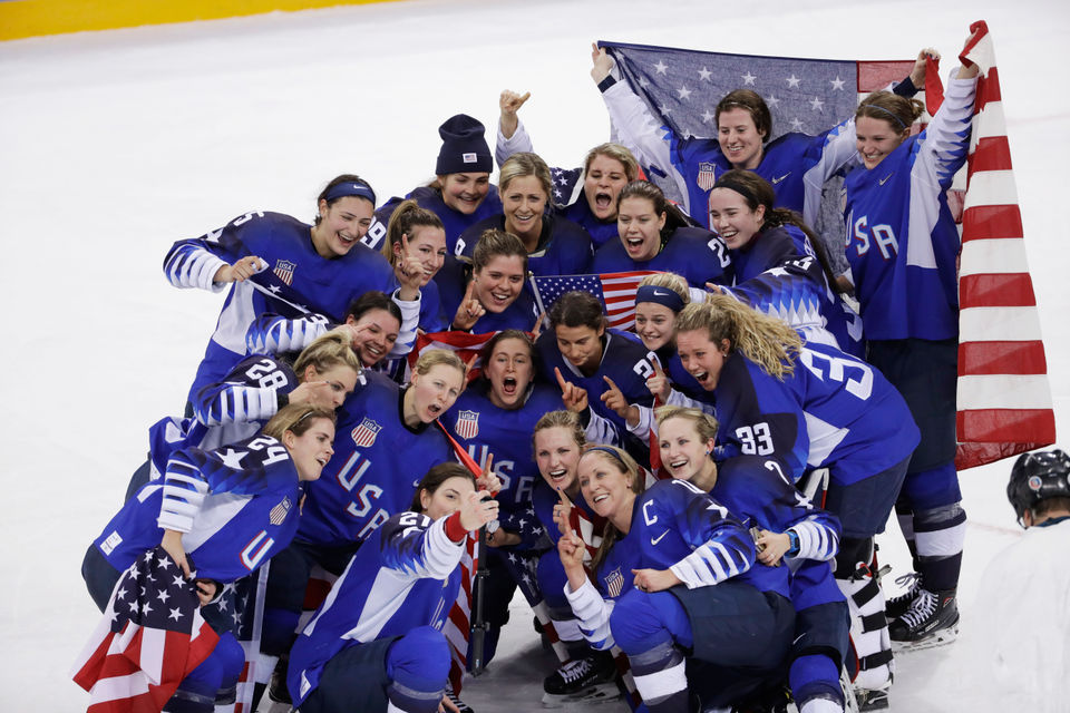 2018 Winter Olympics: US women's hockey wins gold, ends Canada's 20-year reign in shootout