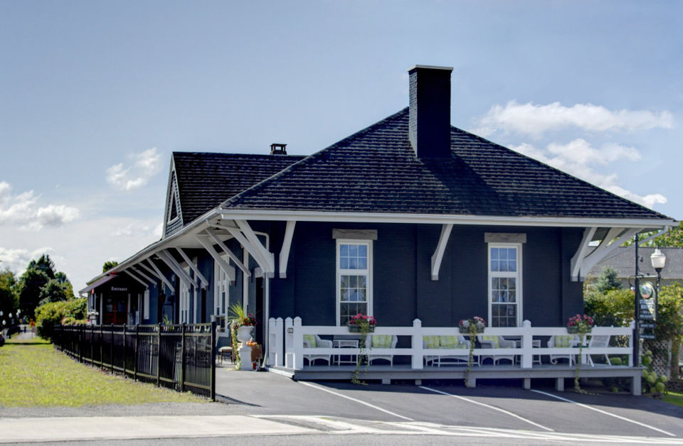 Spend the night at this historic train station in Upstate NY