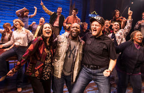 """One recent evening in New York City, Corey Brunish couldn't get a ticket to a Broadway show he wanted to see. The clock was about to strike 8. Brunish decided to see if there were any last-minute seats for another nearby show, a musical called """"Come From Away."""" He was in luck: Someone had returned a single ticket. Brunish took it. """"And I sat there and cried for 90 minutes,"""" he said."""