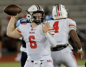 Week 4: Chase Starling, QB, Hazel Green Scored eight touchdowns, which is tied for second in AHSAA history, in a 78-35 win over Lee-Huntsville. He completed 13 of 20 passes for 150 yards and five touchdowns (24, 6, 38, 9 and 6 yards ) and ran nine times for 84 yards and three TDs (1 yard, 7 and 20 yards).