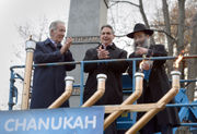 Hanukkah celebrated with lighting of menorah at Springfield's Court Square (photos, video)