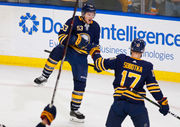NHL: Buffalo Sabres beat Sharks in overtime for 10th straight win