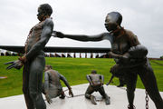 Memorial, museum, recount terror of lynching, slavery's legacies