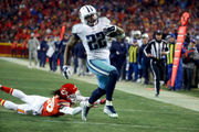 Derrick Henry joins list of Titans/Oilers greats with playoff performance