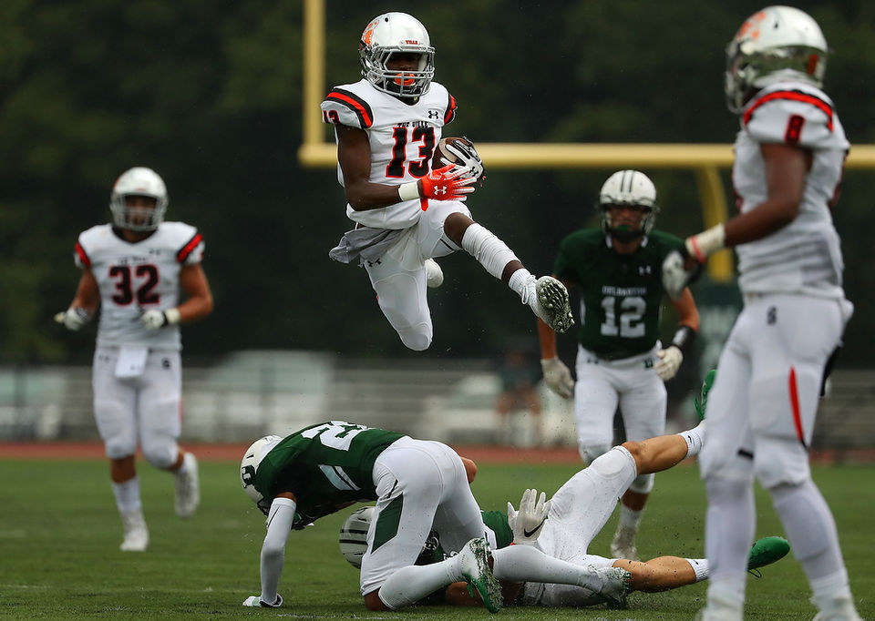 No 12 Somerville Rolls Past Delbarton Behind Play Of Dabney