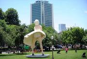 Marilyn Monroe statue has church venting