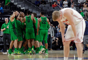 The sixth-seeded Ducks battle the No. 3 seed Utes in the Pac-12 Conference tournament in Las Vegas.