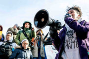 Hundreds of students protest gun violence in Ypsilanti rally