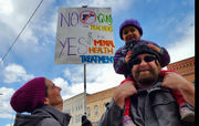 Youth at March for Our Lives Northampton to elected officials: 'You control me, but you don't protect me' (photos)