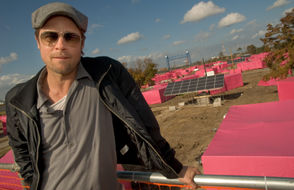 Superstar Brad Pitt's Make It Right Foundation produced 109 architecturally striking homes in the Lower Ninth Ward.