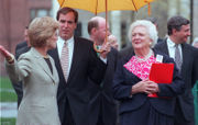 Western Mass. leaders reflect on Barbara Bush's life, recount former first lady's visit to Springfield