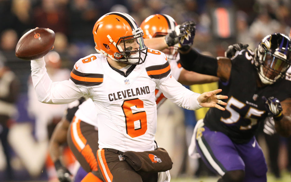 the browns got the afc north s attention and more monday takeaways