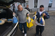 Springfield attorneys donate 250 turkeys to Gray House to help with Thanksgiving outreach (photos)